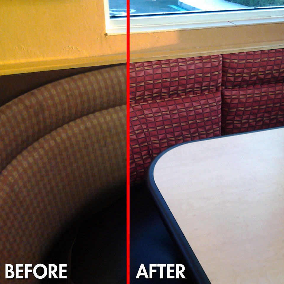 Restaurant Booth Upholstery Repair Fort Myers Florida